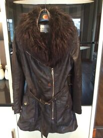 River island ladies coat size 8 Like new worn once