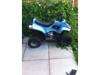 50cc quad spairs or repairs engine works just needs bits doing up on it