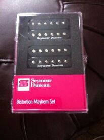 Brand New Seymour Duncan SH-6 Distortion Mayhem Pick ups £80
