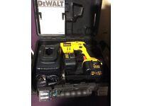 DEWALT DW979K 12 Volt Cordless Pistol Grip Drywall driver
