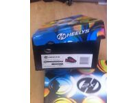2 pairs Heelys size 13 red/black and pink/black still in box - worn once