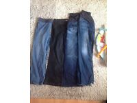 6 pairs of ,maternity jeans/trousers