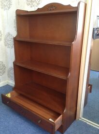 Bookcase-Top Quality in Cherry