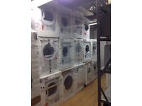 BRAND NEW (SENSOR) TUMBLE DRYERS! (VENTED / CONDENSER / HOTPOINT / INDESIT / SAMSUNG / HOOVER WHITE)