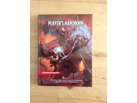 Dungeon and Dragons Players Handbook in excellent condition 317 pages