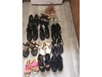 Girls shoes 13 pairs all good condition