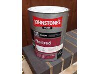 Johnstone Trade Floor Paint - Grey colour