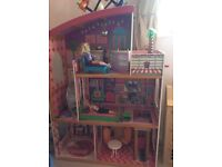 Dolls house - fairly new bargain orig over £100 REDUCED for quick sale