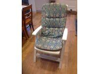X2 plastic garden chairs
