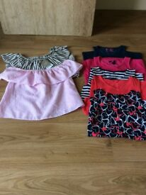Bundle of girls summer clothes age 9-11