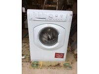 washer dryer which stops before the spin cycle so needs a new part. Selling for repair or parts