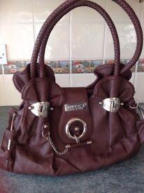 Lovely brown ladies handbag