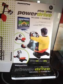 Plug and play power drive game 30 games included