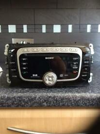 Ford Sony dab mp3 cd player