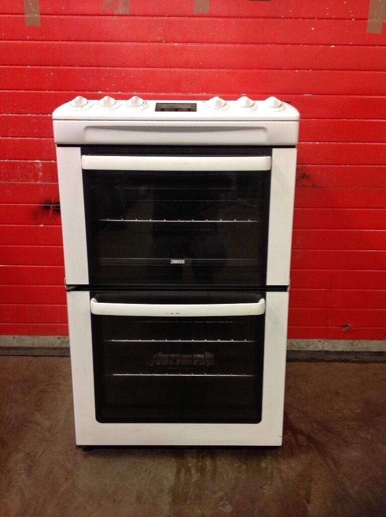 Zanussi gas cooker ZCG662GWC 60cm FSD double oven 3 months warranty free local delivery!!!!!!!