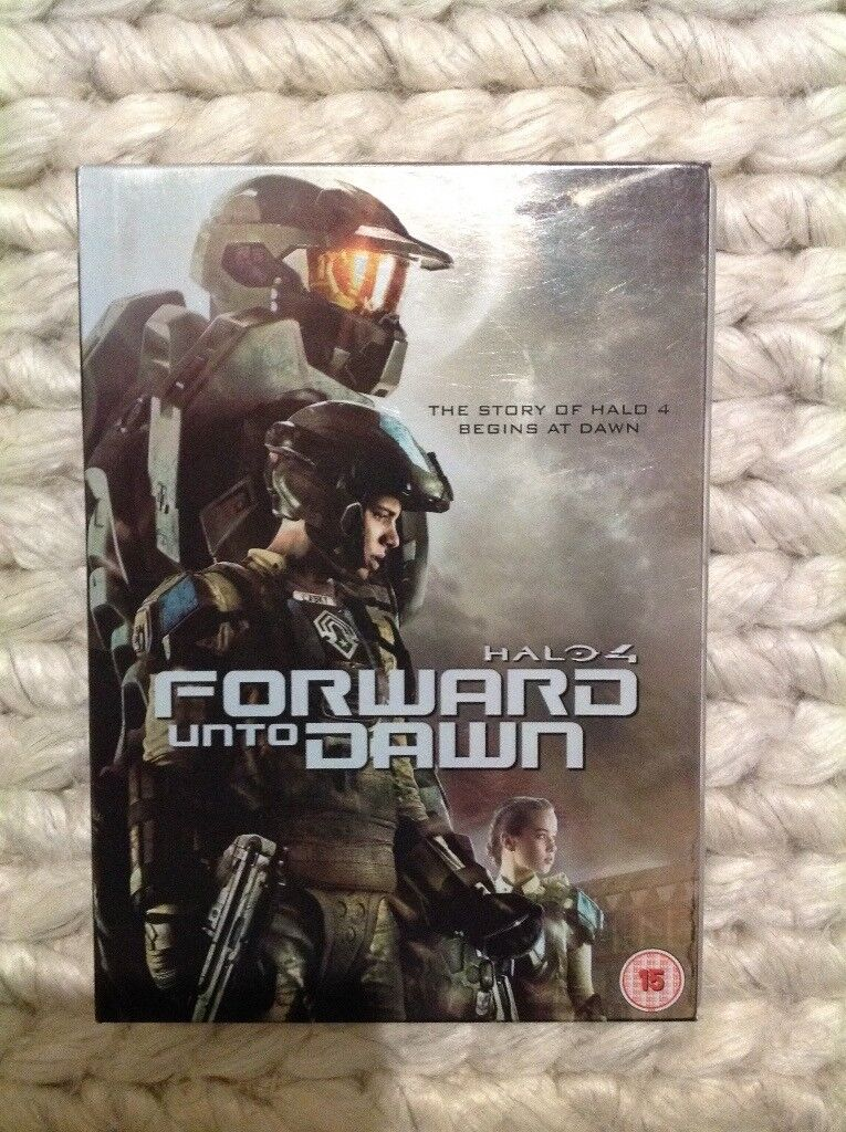 Halo 4 forward into the dawn DVD film