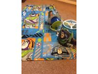 Toy Story Curtains, Ceiling Shade & Lamp