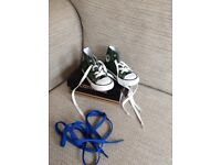 Converse high tops, infant size 5
