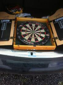 Phil Taylor Dart Board and case box