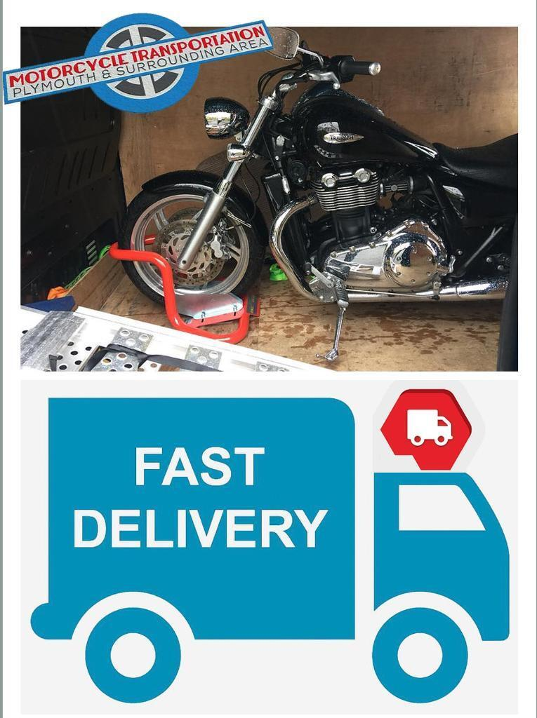 Motorbike Transportation & Recovery - Message Us Here to Book Now