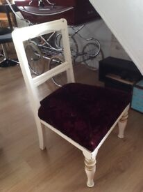 Old low nursing chair