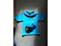 Beavers polo shirt and cap