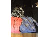 Selection of tops/jumper sizes 10/12