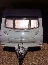 Swift Morningstar 4 birth caravan 2005