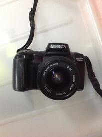 Minolta maxxum 700si camera and sigma lens