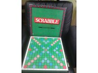 Vintage Large Delux Scrabble Board