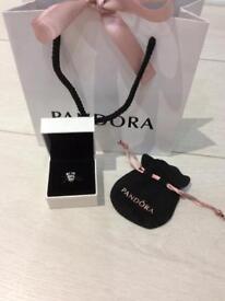 Pandora genuine silver giraffe charm