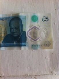 AA02 polymer £5 note