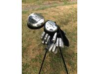 Ram golf set(12 clubs) + Dunlop Bag.