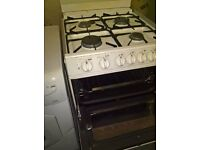 white Cannon Gas cooker 60cm..free delivery