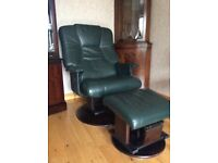Excellent Condition Leather Recliner Swivel Chairs & Sofa