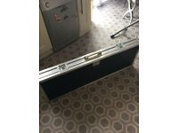 Flight case for bass guitar