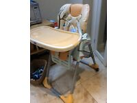 Highchair - Chicco Safari In great condition