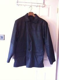 Black leather jacket - Remus