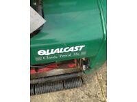 Qualcast lawn mower none runner
