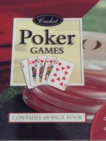 BOX OF POKER GAMES - NEW