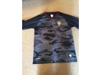 Grey Portugal football top S limited edition