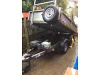 Ifor Willian's tipping trailer 8x5 2015