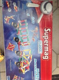 Supermag classic magnetic toy