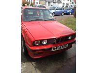 BMW E30 two door