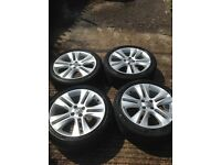 Vauxhall Corsa D 13 plate onwards 17 inch Alloys.