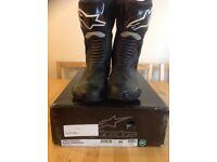 Male Alpine stars motorbike boots