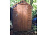 Garden shed 6x3