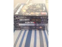6 job lot PS3 games