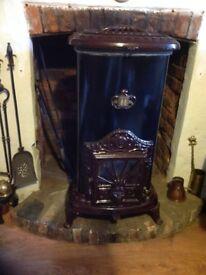 Antique style woodburner 7 kw