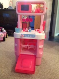 Early Learning Centre pink kitchen